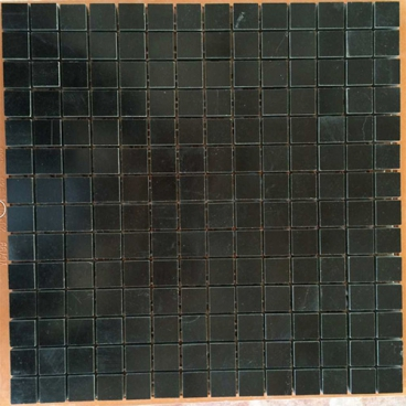 Hainan Black Basalt Polished Mosaic