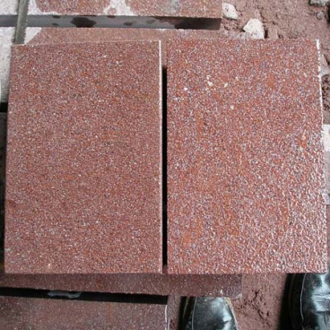 China Red Porphyry Granite Flooring