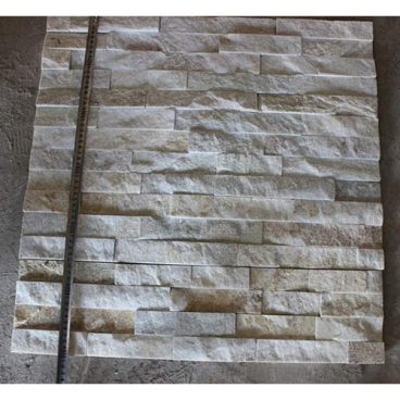White Quartzite Natural Splited Ledgestone