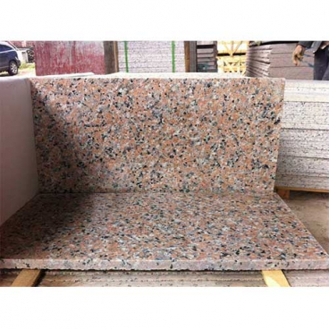 Rosa Porrino Pink Granite Polished Flooring