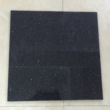 Black Galaxy Granite Polished Flooring (Thin Panel)