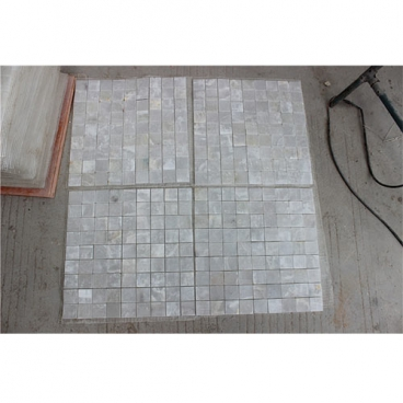 Iran Onice Bianco White Onyx Polished Mosaic