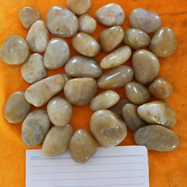 NanJing Yellow Polished Pebble