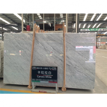 Bianco Carrara White Marble Polished Slab